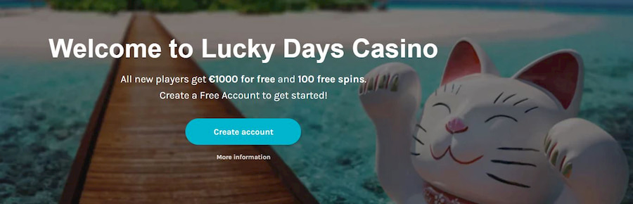 Bonuses and Promotions Lucky Days